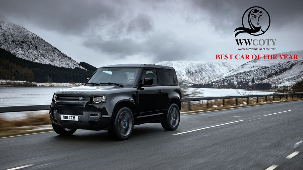 Land Rover Defender thang giai Womens World Car of the Year 2021